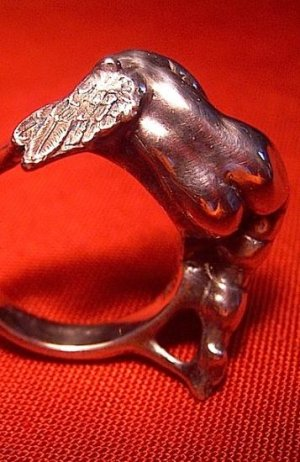 Photo1: HEAD LESS ANGEL RING